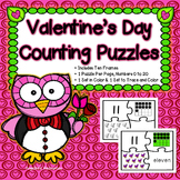 Valentine's Day Activities: Number Tracing - Fine Motor Skills -Counting Numbers