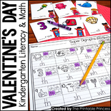 Kindergarten Valentine's Day Activities and Centers {Math