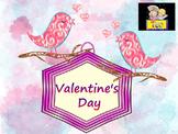 Birds - Activities - Writing paper - Valentine's Day