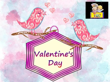 Birds - Activities - Writing paper - Valentine's Day