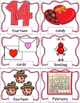 Valentine's Day, Pocket Chart Cards and Writing Activities, February Activities