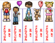 Valentine's Day Activities Bookmarks, Free February Activities