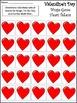 Valentine's Day Activities: Valentine's Day Bingo Game Activity Bundle -Color&BW