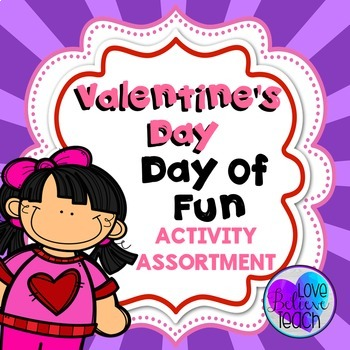 Valentine's Day Math and Literacy Activities