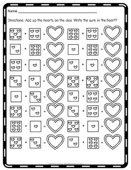 February and Valentine's Day Themed Math (and a little more)