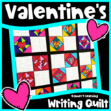 Valentine's Day Activity: Valentine's Day Writing Prompts Quilt