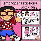 Valentine's Day Math: Improper Fractions and Mixed Numbers