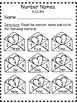 Valentine's Day Common Core Math Printables and Task Cards