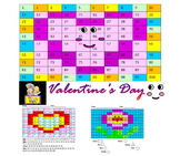 Mother's Day Mystery Picture Holidays Seasonal Math Activity