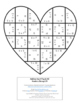 ADDITION Heart Puzzles: Create a Grandparents Day Craft, Activity, Card, or Game