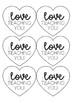 Valentine's Day Gift Label