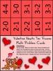 Valentine's Day Math Activities: Valentine Hearts Valentine's Day Ten Frames