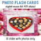 Valentine's Day 30 Digital Flash Cards with Sample Sentences