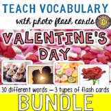 Valentine's Day Photo Flash Cards [3 different types] BUNDLE - SAVE BIG!