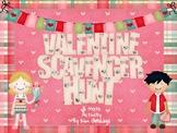 Valentine's Day 5th Grade Fractions Scavenger Hunt