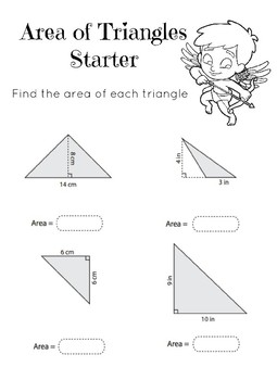Valentine's Day 6th Grade Math Starter