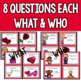 Valentine's Day - A WH- Questions Game