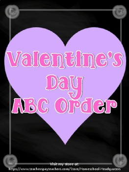 Valentine's Day ABC
