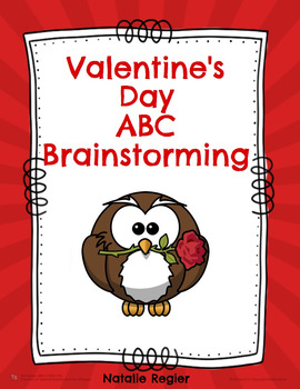 Valentine's Day ABC Brainstorming