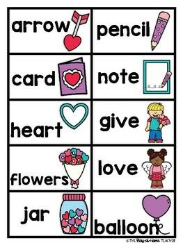 ABC Order - Valentine's Day