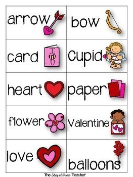 ABC Order Valentine's Day
