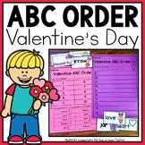 ABC Order Valentine's Day