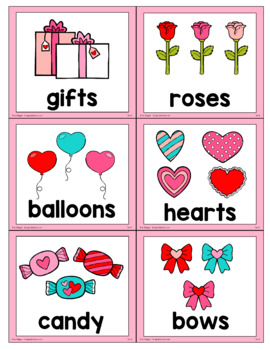 Valentine's Day ABC Order Center/Station with differentiation options
