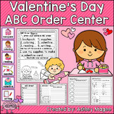 Valentine's Day ABC Order Center/Station with differentiat