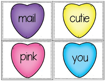 Valentine's Day ABC order activity and cut & paste