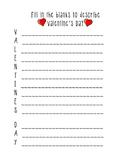 Valentine's Day Acrostic