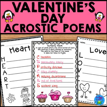 Valentine's Day Acrostic Poems