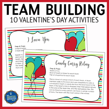 Valentine's Day Team Building & Party Activities