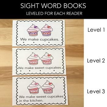 Valentine's Day Sight Word Book