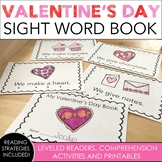 Valentine's Day Sight Word Book