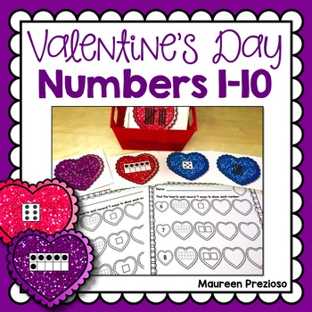 Valentine's Day Math Activities for Kindergarten