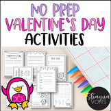 Valentine Literacy Activities Pack