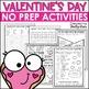 Valentine's Day Activities Bundle