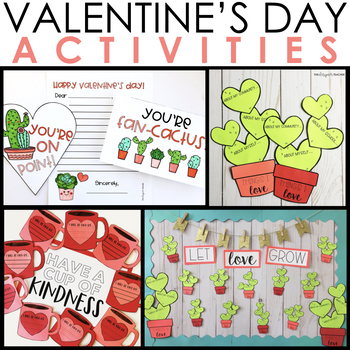 Valentine's Day Activities Bundle