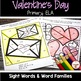 Valentine's Day Activities- Color by Code