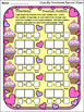 Valentine's Day Activities: Cupcake Dominoes Valentine's Day Bundle - Color&BW