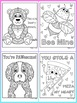 Valentine's Day Activities- Cute/Funny Coloring Pages