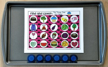 """Valentine's Day Activities: """"Find and Cover"""""""