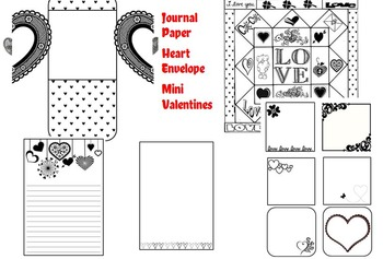 Valentine's Day Activities/Fun Sheets Grade 6+