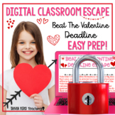 Valentine's Day Activities Google Classroom Digital Escape