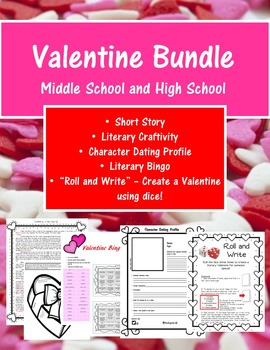valentine 39 s day activities high school and middle school tpt. Black Bedroom Furniture Sets. Home Design Ideas
