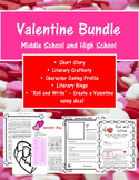 Valentine's Day Activities High School and Middle School