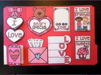 Valentine's Day Activities ~ Lapbook Craftivity