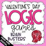 Valentine's Day Activities - Logic Puzzles - Brain Teasers