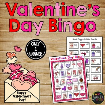 Valentine's Day Activities {Math Bingo, No Prep Worksheets, Coloring Pages}