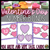 Valentine's Day Activities- Number Bonds to 20 Math Center